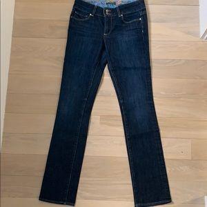 Paige dark denim boot cut jeans 28